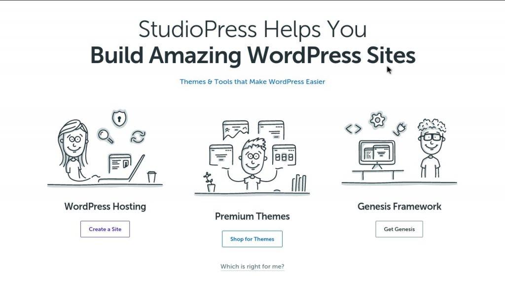 amazing wordpress sties by studiopress
