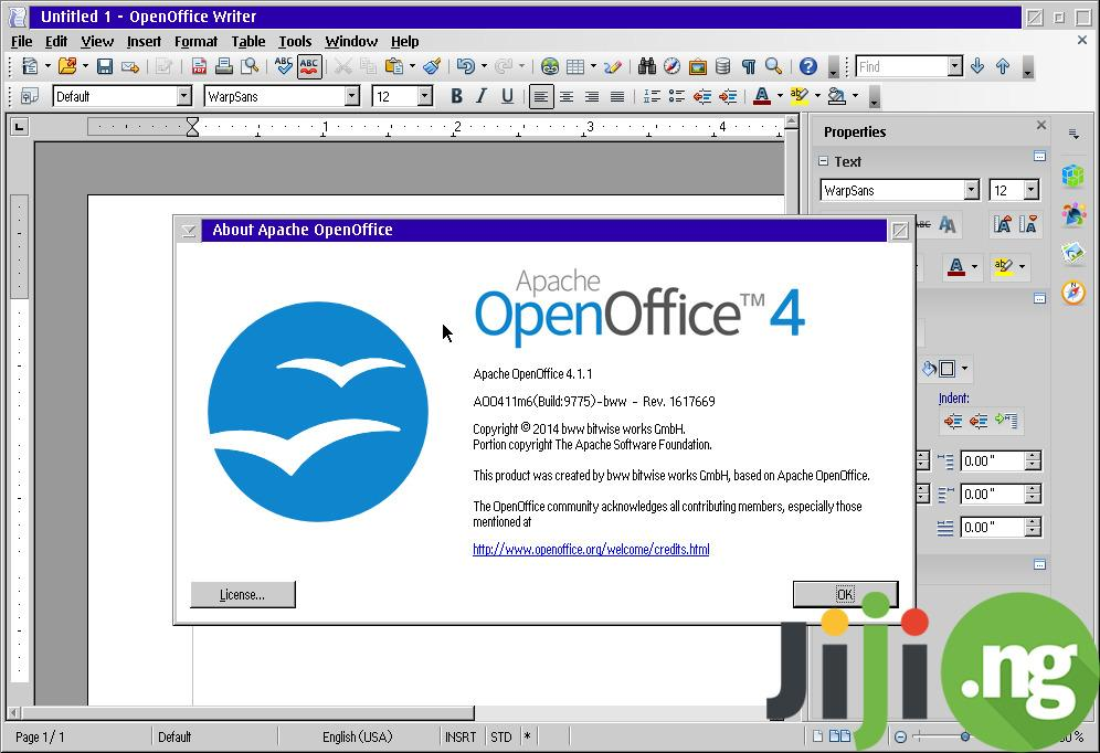 Open office 4
