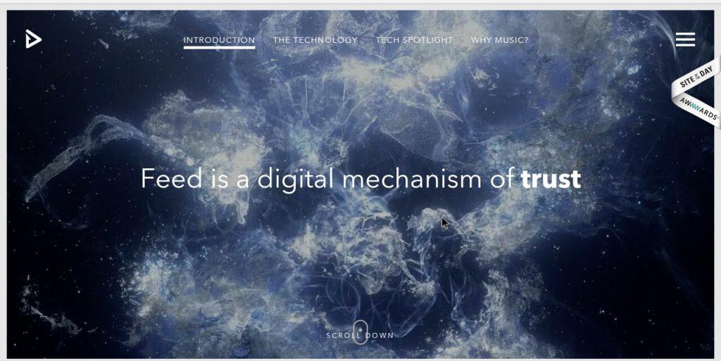 feedmusic homepage image