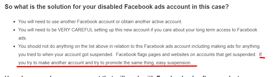 facebook ad account advice from Jerry