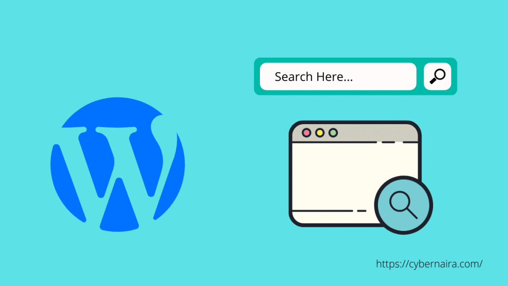 How to Add a Search Bar to WordPress