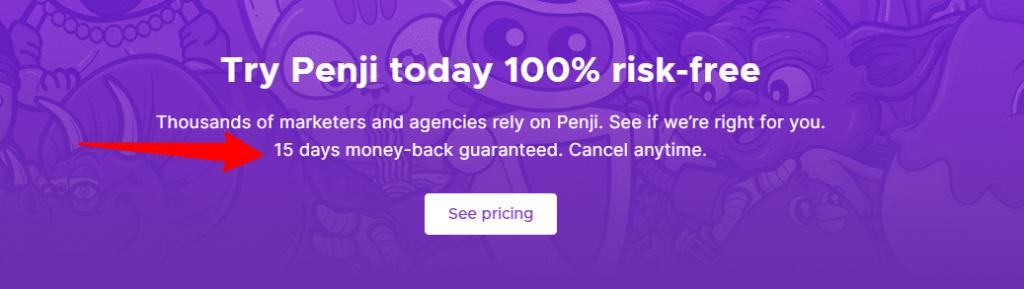 Penji money back guarantee