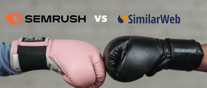 Semrsuh vs Similarweb