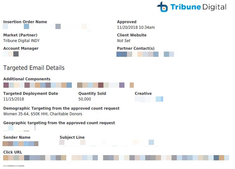 censored document from tribure digital