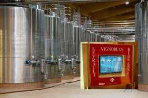 Régulation température vinification
