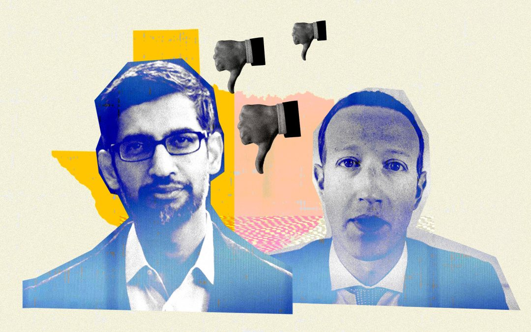 Texas Accuses Google and Facebook of an Illegal Conspiracy