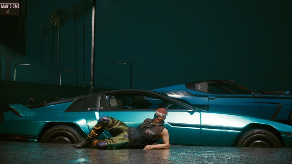 【2077】埋まった車がカッコよく見える時があるから困る 【めり込み】【サイバーパンク2077】