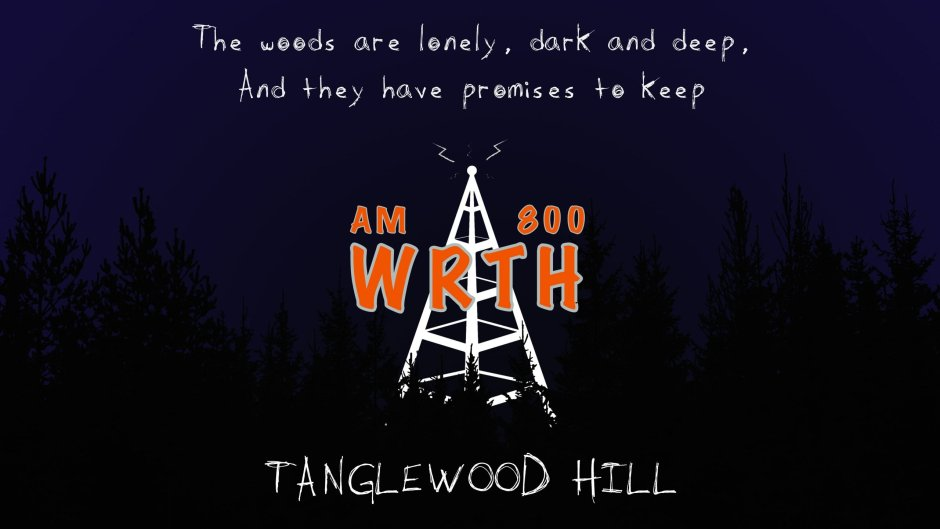 WRTH Logo - The woods are lonely, dark and deep