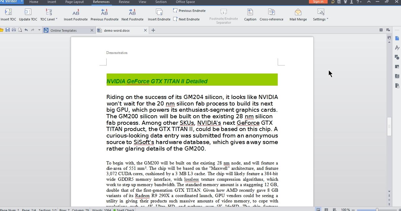 WPS Office 2015 – Free Microsoft Office alternative   Cyber Raiden