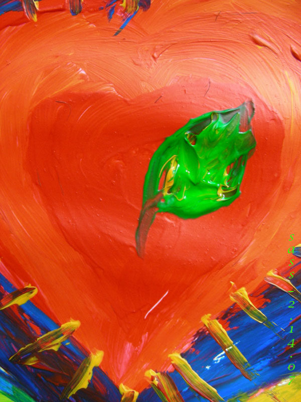green-leaf-red-heart