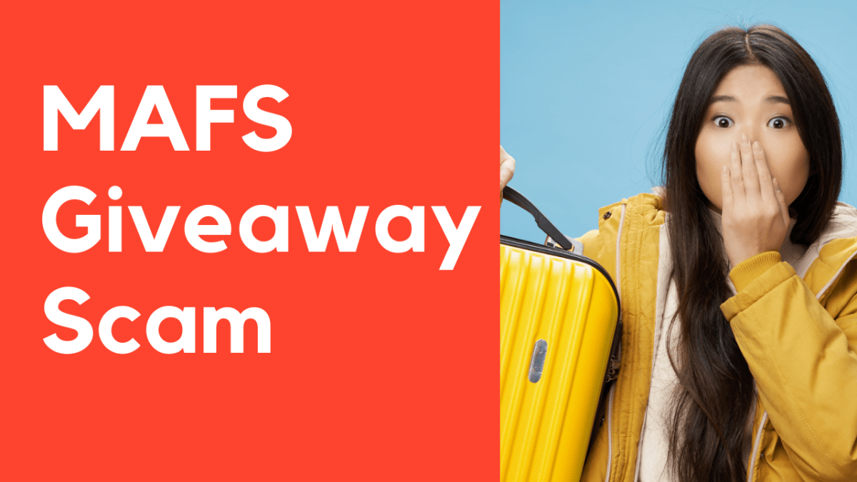 MAFS Giveaway Scam
