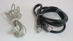 Telephone and Ethernet type cable