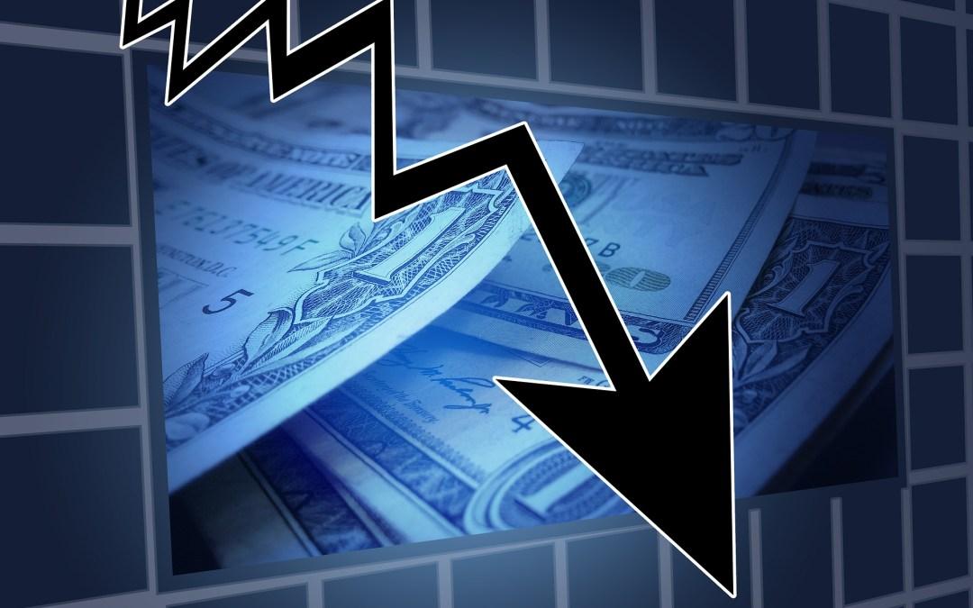 Niedergang der Wirtschaft