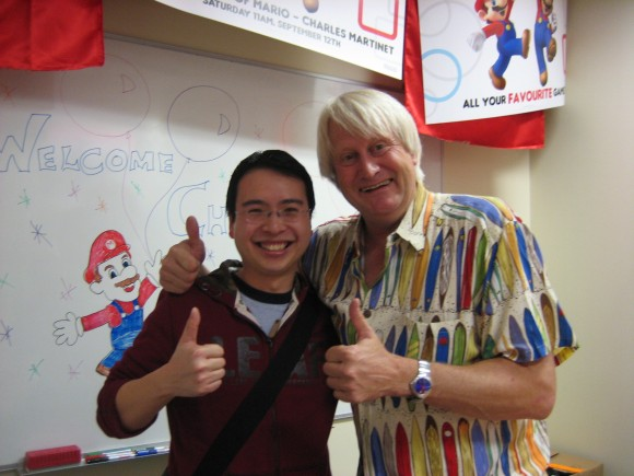 Caesar and Charles Martinet