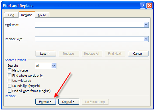 where is the normal template in word 2010