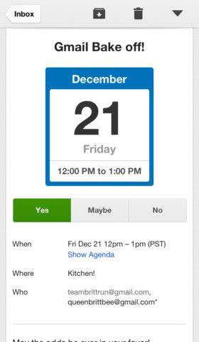 Gmail App