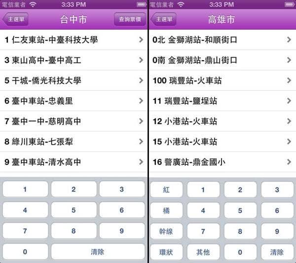 台灣公車通 App