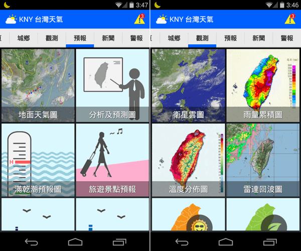 KNY台灣天氣 App