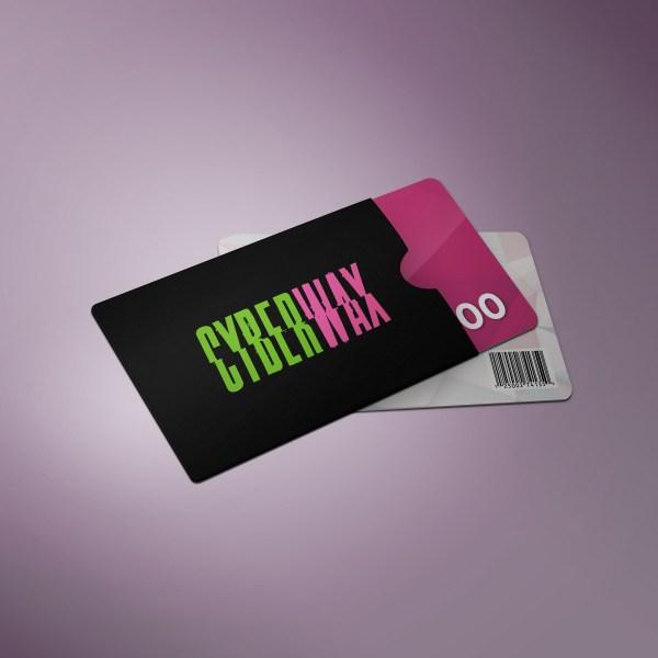 giftcard de cyberwax - regalo ideal para djs - vinilos de musica electronica