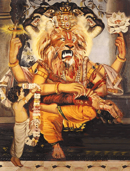 Debt removing prayer of Lord Lakshmi Narasimha (2/2)
