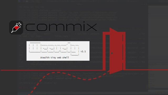 Backdoor with Weevely and Commix
