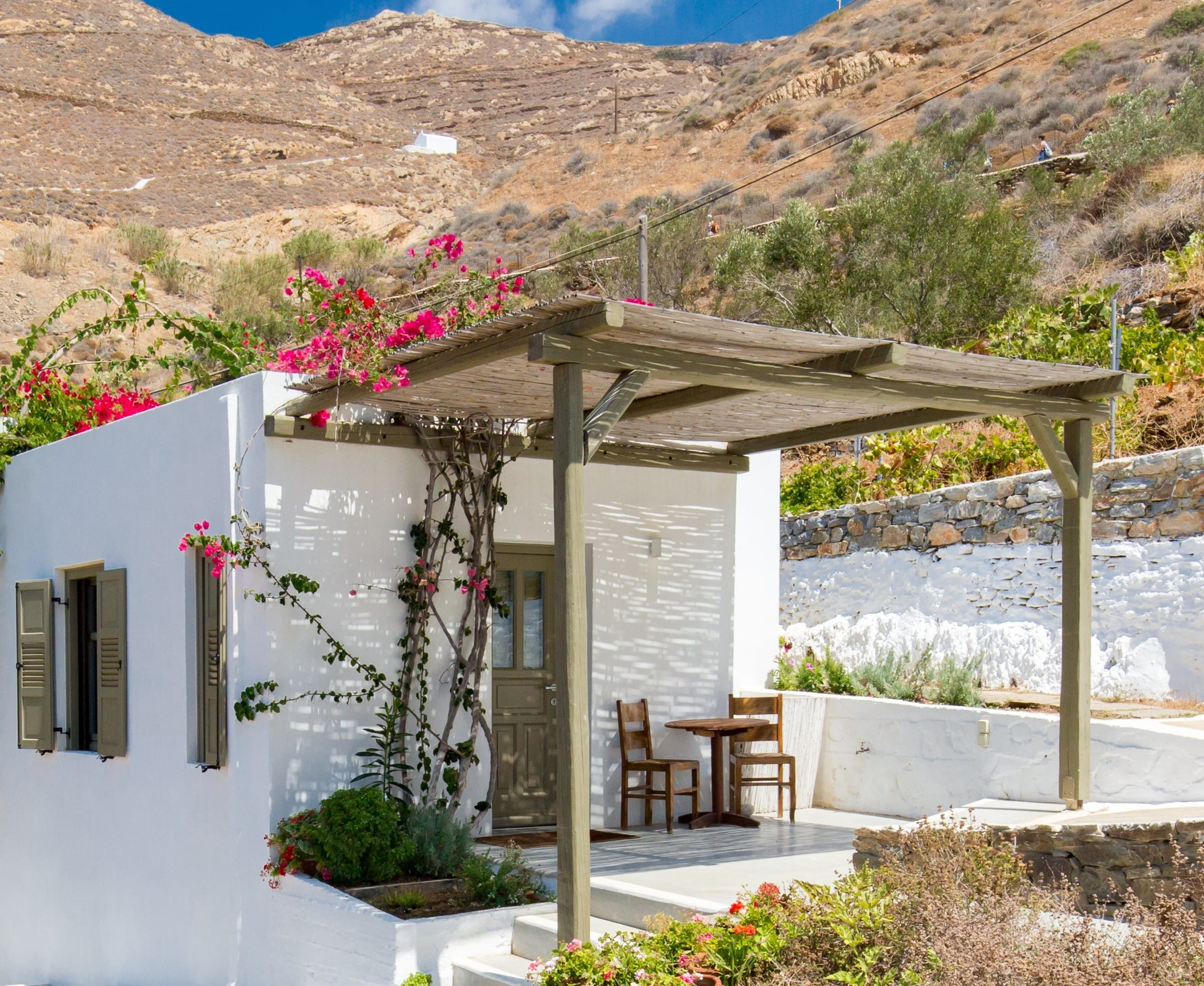 Petradi Studios & Villa | Amorgos Island
