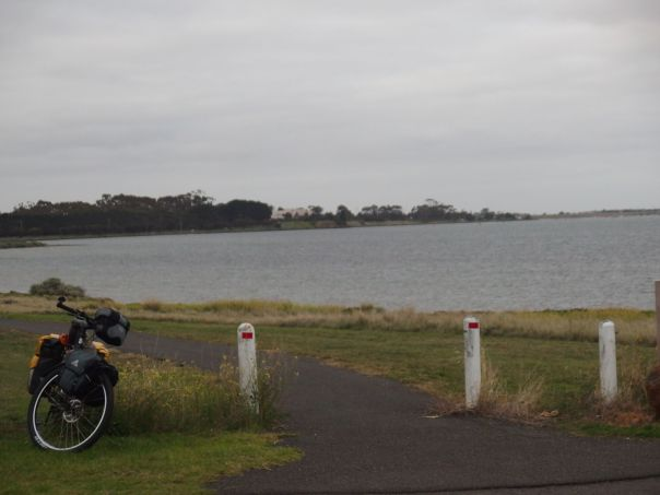 Last bit of industrial riding before the city of Geelong.