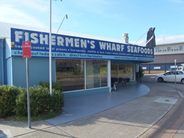 We bought fresh New South Wales shrimp here for our dinner.