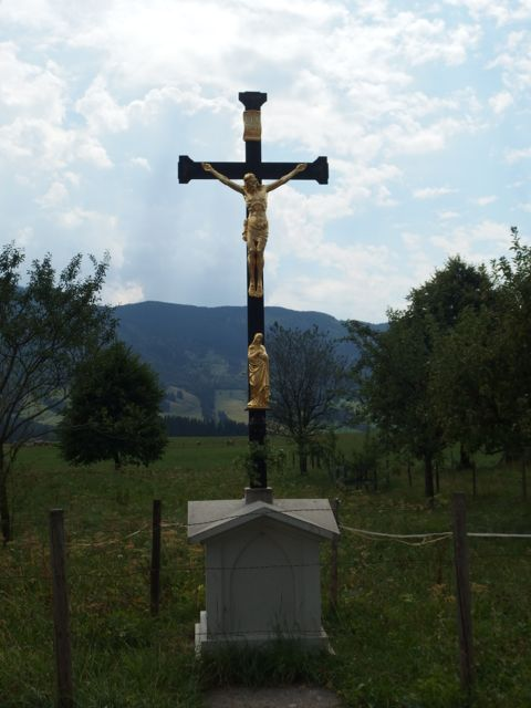 There are lots of crosses dotting the hills.Some of from the 1800s.