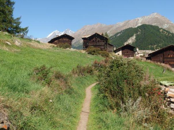 On the hike back to Zermatt.