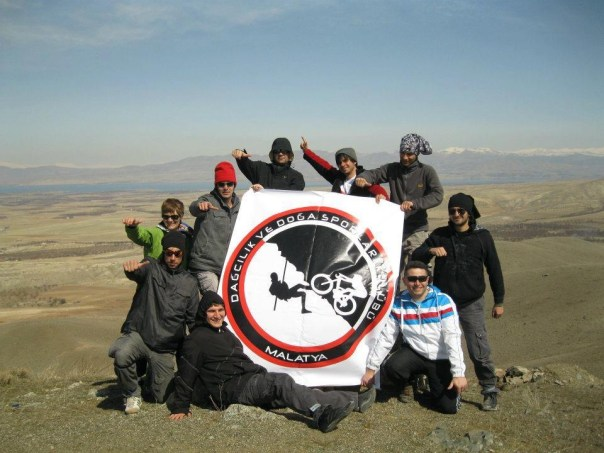 This cycling group in Malatya, Turkey was making great strides to increase awareness for cycling.