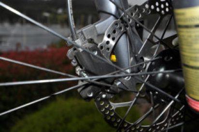 Hydraulic disk brakes on Gepida Ruga