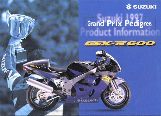 Suzuki GSX-R600/brochures