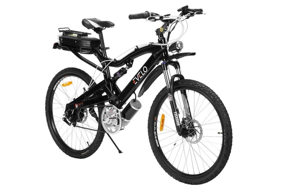 EVELO Aries Electric Bike with Shimano Alivio 8-Speed