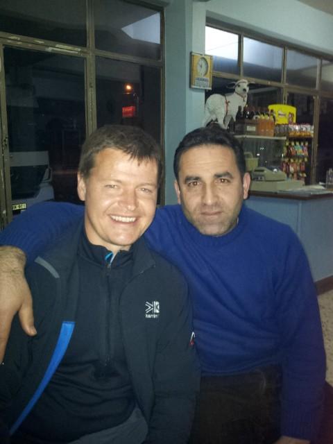 Mehmet and I, top man.