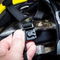 Pfiffig - Der Magnetverschluss funktioniert tadellos mit nur einer Hand