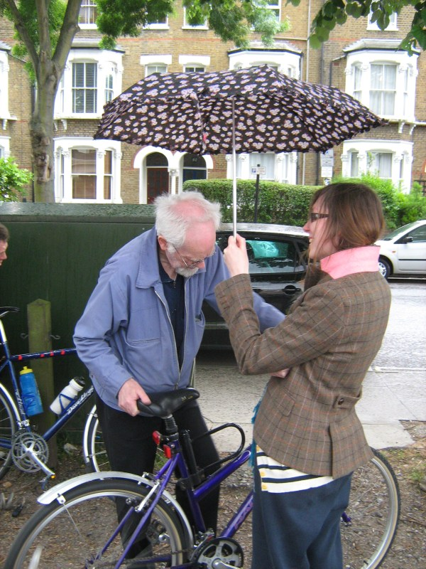 Bike Doctor Adrian gets special treatment…