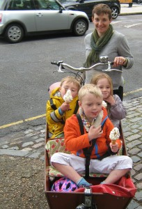 Any good ride includes ice cream!