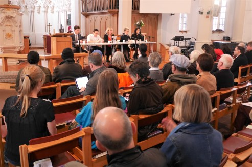 Transport Hustings 2018 looking towards candidates