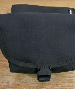 τσάντα μέσης, μαύρη, bagaboo, hip pouch, black, bicycle