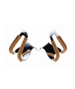 mks, half, toe clip, leather, καλουπιέ, μισό, με δερμάτινο κάλυμα,