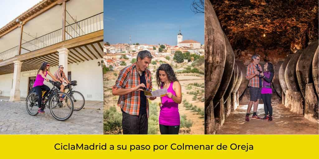 Bodegas vinos Colmenar de Oreja Madrid
