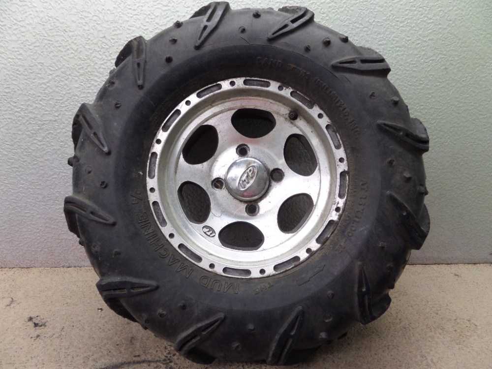 medium resolution of details about 2002 yamaha grizzly 600 4x4 itp right front wheel rim