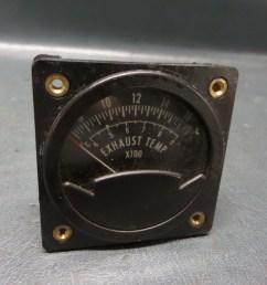 westberg westach 2a2 egt exhaust temp gauge aircraft aviation homebuilt k wire [ 1024 x 768 Pixel ]