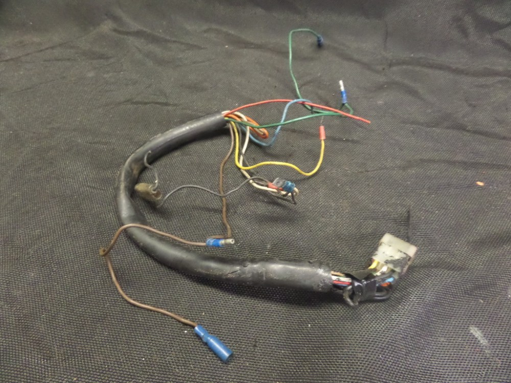 medium resolution of 1983 yamaha seca 750 2 wire harness connector plug pigtail