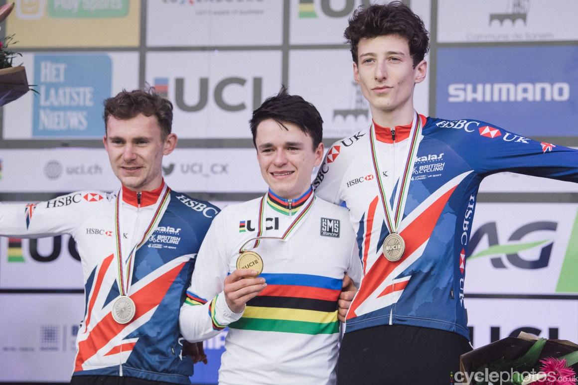 junior race UCI 2017 Cyclocross World Championships january 2017, Bieles/Luxemburg
