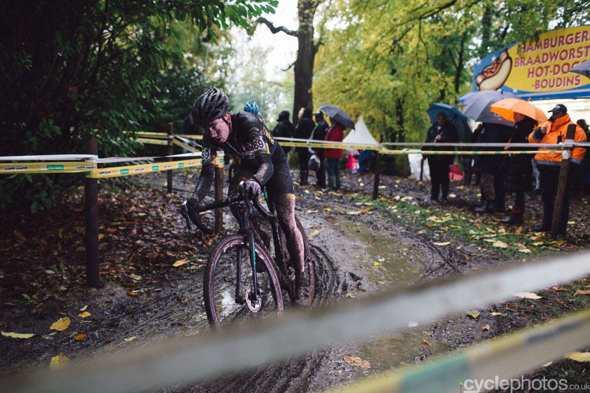 Maik van der Heiden at Cyclocross Superprestige #5 - Gavere, BEL