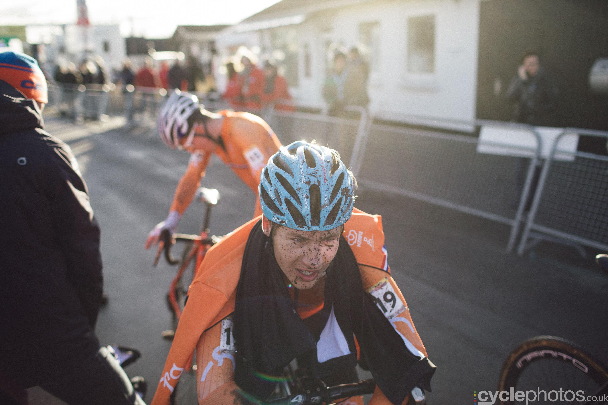 Luke Verburg at UCI Cyclocross World Cup #4 - Bogense, DEN