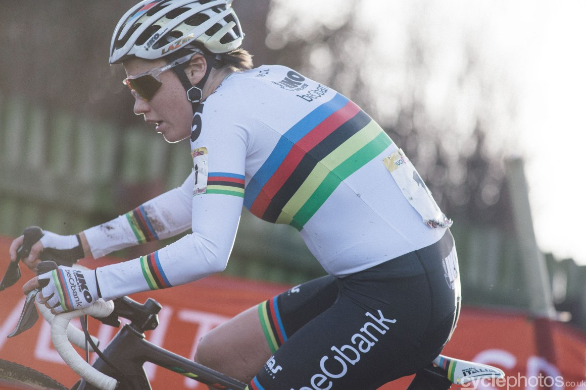 Sanne Cant at UCI Cyclocross World Cup #4 - Bogense, DEN