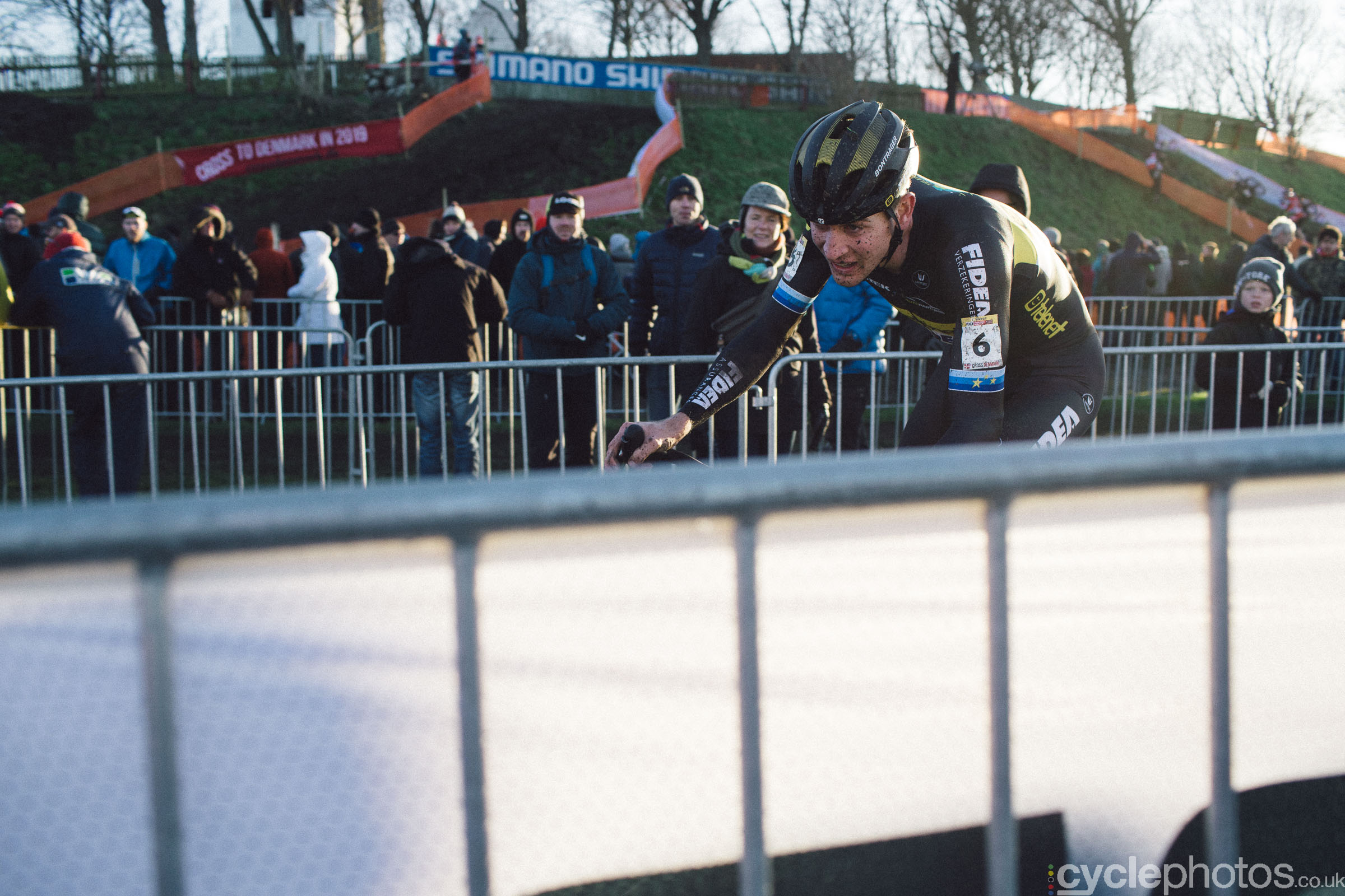 Toon Aerts at UCI Cyclocross World Cup #4 - Bogense, DEN